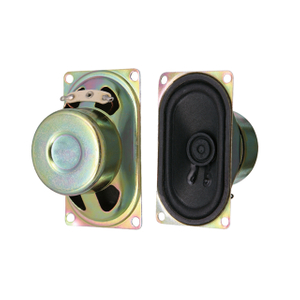 40x71mm 8ohm 3w mini TV speaker