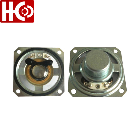 50mm 8ohm 1w square waterproof speaker