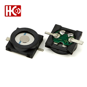 12*12*5.5mm 1.5V 16 ohm magnetic ac buzzer