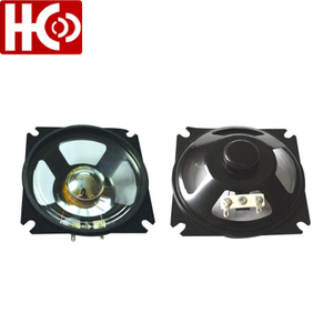 87mm*87mm 8ohm 5watt waterproof speaker