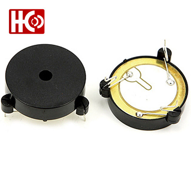 33MM*8MM 12V 24V dc 85dB 3 pin piezo buzzer