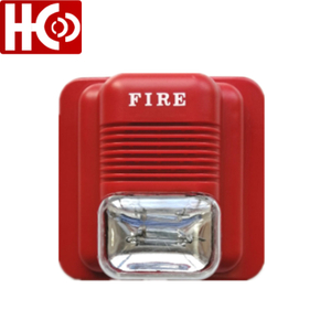 Small Size DC 24V Fire Alarm with Strobe Light