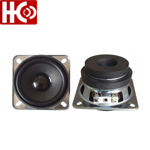 70mm 4ohm 10w square loudspeaker